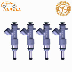4PCS High quality Fuel Injector 16600-EA00A For 05-17 Nissan Frontier 2.5L 4L