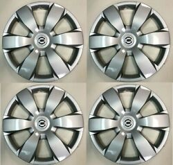 4pc 16 Hubcaps Fits 2002 To 2004 Nissan Altima Hub Cap Wheel Cover