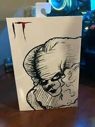 Sdcc 2019 Exclusive Neca It 2017 7andrdquo Scale Action Figure Etched Pennywise
