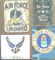 Air Force Unleash American Hardcore United States Military Soldier Magnet 327