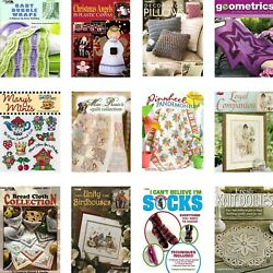 CRAFTING KNITTING SEWING BOOKS DIY Sweaters Baby Scarfs Gifts Craft Scrapbook