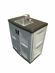 Florida Portable Sinks Self Contained Hand Wash Station w/ Cold Hot Water