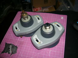 Beer Keg Couplers, Lot Of 2, D-type, Aco-001, And 1 Regulator. Used Items.
