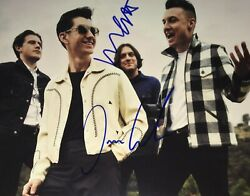 Airborne Toxic Event Complete Group Signed 8x10 Photo Autographed Coa E5