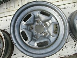 Used Pair 1985-87 Camaro 15 X 7 Wheel/steel Usable As-is/or Paint To Suit You