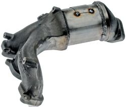 Exhaust Manifold with Integrated Catalytic Converter fits 2009-2009 Mercury Mari