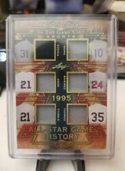 2019 In The Game Used All-star History 6x Jersey Pizzathomasnomososa Sp 1/1