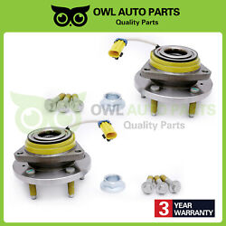 1 Pair 513121 Front Wheel Bearing Hub Assembly Fit Pontiac Grand Gmc Chevy Buick