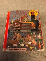 The Runaway Toys By Lillian Baker Sturges 1920 1st Printing Illustrated Vintage