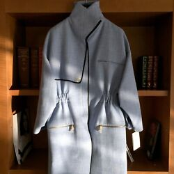 Christian Dior Nwt Womenand039s Trench Jacket Coat With Zipper Fr36 Us 2-4
