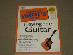 Playing The Guitar The Complete Idiots Guide By Noad 1998 Free Shipping