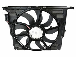 For BMW 640i xDrive Gran Coupe A/C Condenser Fan Assembly Genuine 82484PY