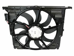 For 2012-2016 Bmw Activehybrid 5 A/c Condenser Fan Assembly Genuine 53344xq 2013