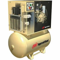 IR Rotary Screw Compressor w/Total Air System- 200V 3-Phase 10 HP 38 CFM
