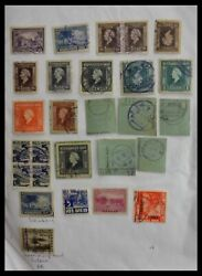 Lot 29422 Collection Cancels On Stamps Of Dutch East Indies.