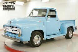 1955 FORD F100 302 V8 AUTO .5 TON SHORTBOX READY FOR SUMMER CALL 1-877-422-2940! FINANCING! WORLD WIDE SHIPPING. CONSIGNMENT. TRADES. FORD