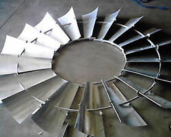 Aermotor Windmill Wheel For 8ft A702 With Spokes Sections Assembled New