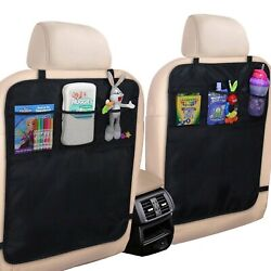Secure And Quality Kick Mat Cover Protect Car Seat From Stain Damage Fit Most Cars