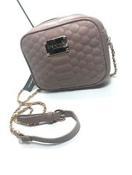 NEW Bebe Womens Honey Quilted Camera Crossbody Bag - Designer Taupe Purse NWT$78 $24.99