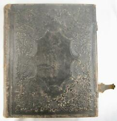 Fegely Surname Heilige Schrift Antique Large German Holy Bible Pennsylvania O
