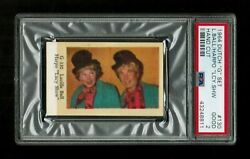 Psa 2 Lucille Ball And Harpo Marx The Lucy Show 1964 G Set Card Only One Graded