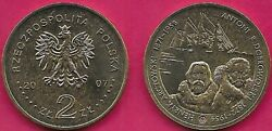 Poland 2 Zlote 2007 Unc Seriespolish Travellers And Explorers,artic Explores He