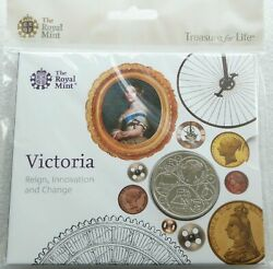 2019 Royal Mint Queen Victoria Bu Andpound5 Five Pound Coin Pack Sealed Uncirculated