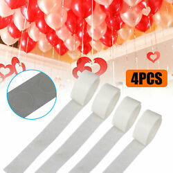 4Pcs 100 Glue Points Tape for Balloon Decorating Removable Adhesive Tool Wedding