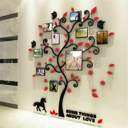 Family Tree Wall Sticker Vinyl Decal Removable Home Decor Living Room 3D Photos