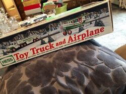Hess 2002 Toy Truck And Airplane By Hess