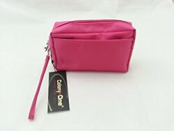 Colony One Small Cosmetic Bag with Wrist Strap Pink $16.95