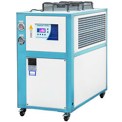 5 Ton Air-cooled Industrial Chiller Micro-computer Control Lcd Display 15kw