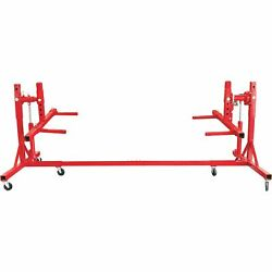 Torin Auto Body Repair Lifting Rack with Gear Rotation, Model# TAL15002