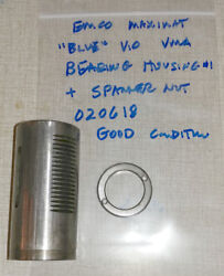 Emco Maximat V10 Blue Vertical Milling Parts Quill Bearing Housing 1 020618