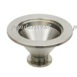 Kf40 Nw40 To Kf16 Nw16 Conical Reducer Union Ss304 Vacuum Adapter