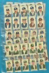 D207. 1907 Set Of Australian And English Cricketers Cigarette Cards