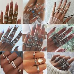 Fashion Spectacular Ring Sets In Boho Style Bohemian Jewelry For Women