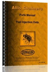 Parts Manual Allis Chalmers Bosch And Roosa Master Injection Pump
