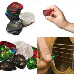 Celluloid Guitar Picks 60 Pcs Recommended Electric Acoustic Or Bass Plectrum Col