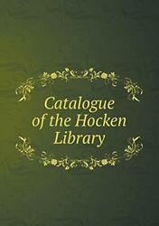 Catalogue Of The Hocken Library, Trimble, H. 9785518637153 Fast Free Shipping,,