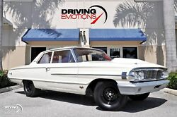 1964 Ford Galaxie Custom 500  1964 Ford Galaxie Custom 500  76816 Miles White Coupe 427 V8 Manual