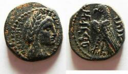 Zurqieh -as13657- Best Example In The Market Nabataea. Aretas Iv. 9 Bc-ad 40. Andaelig