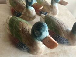 Up To 16 Hand-carved Wooden Duck Sculptures -- Your Choice Outstanding Quality