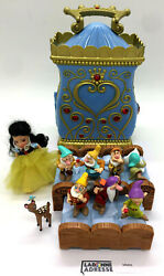 Blanche Neige Et Les 7 Nains Maison Disney Figurines Mm05 Type Polly Pocket