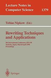 Rewriting Techniques And Applications 9th Int Nipkow Tobias