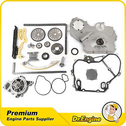 Timing Chain Cover Gasket Water Oil Pump Kit Fit 02-08 Pontiac G5 Chevy Hhr 2.2l