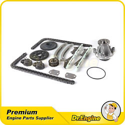 Timing Chain Water Pump Kit For 2001 Ford Mustang V8 4.6l Romeo Engine
