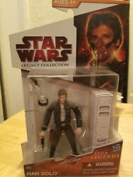 Star Wars The Legacy Collection Saga Legends Sl16 Han Solo Action Figure Moc