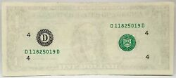 United States 1995 . 1 Dollar .collectorand039s Misprint Note . Missing Obverse..unc