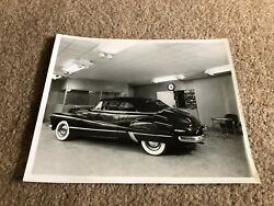 Misc3785 Vintage 8x10 Photo - Antique Car - Buick Advertising Wall Clock